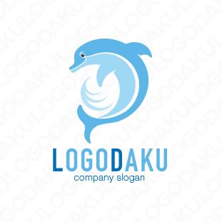 賢いイルカのロゴ