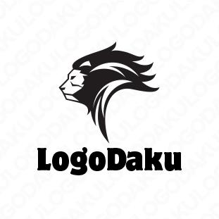 百獣の王 ライオンのロゴ