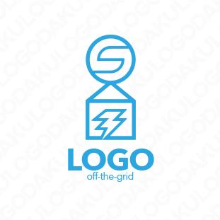 オフグリッド住宅のロゴ