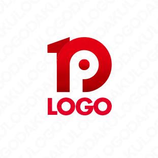 ナンバーワンのPロゴ
