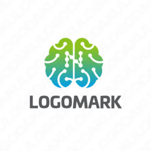 脳のネットワークロゴ