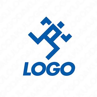 走るフォームのロゴ