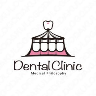 デンタルクリニックのサーカス・ロゴ
