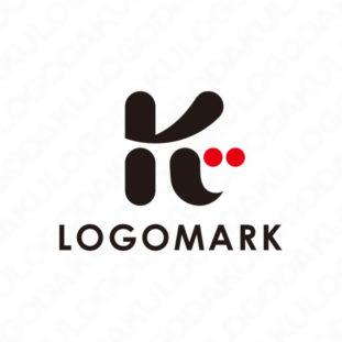 心がこもったKのロゴ