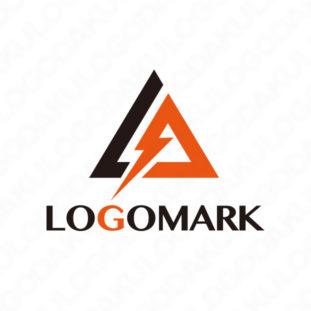 稲妻・トライアングルAのロゴ