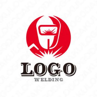 魅力的な溶接のロゴ