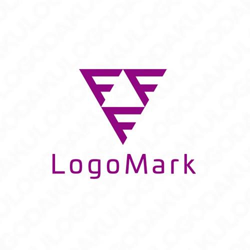 トライアングル Fのロゴ