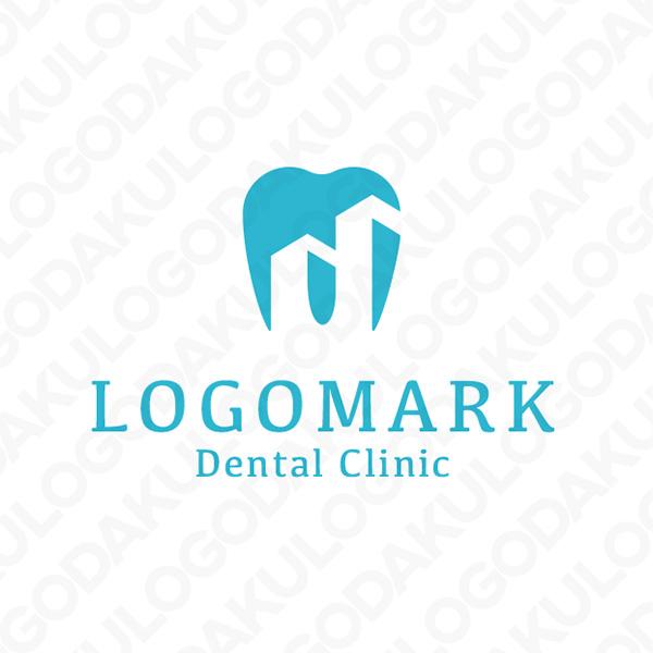 都会的な歯のロゴ