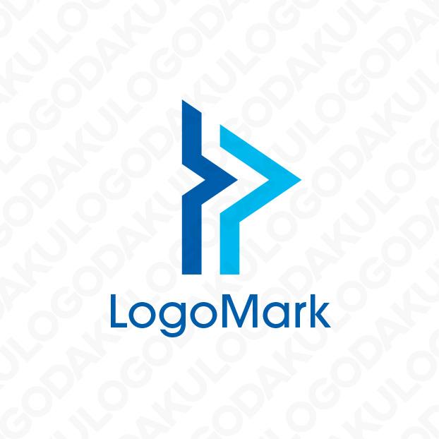 フラッグのPロゴ