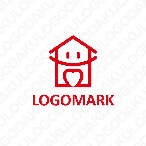 ハート&スマイルの住宅ロゴ