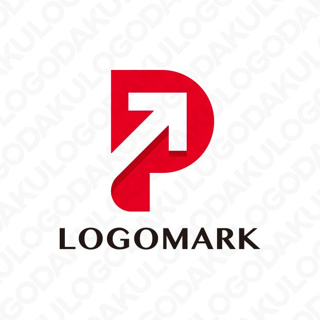 ユニークな発想が飛び出すPのロゴ