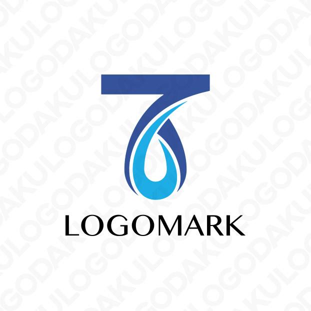 水滴のTロゴ