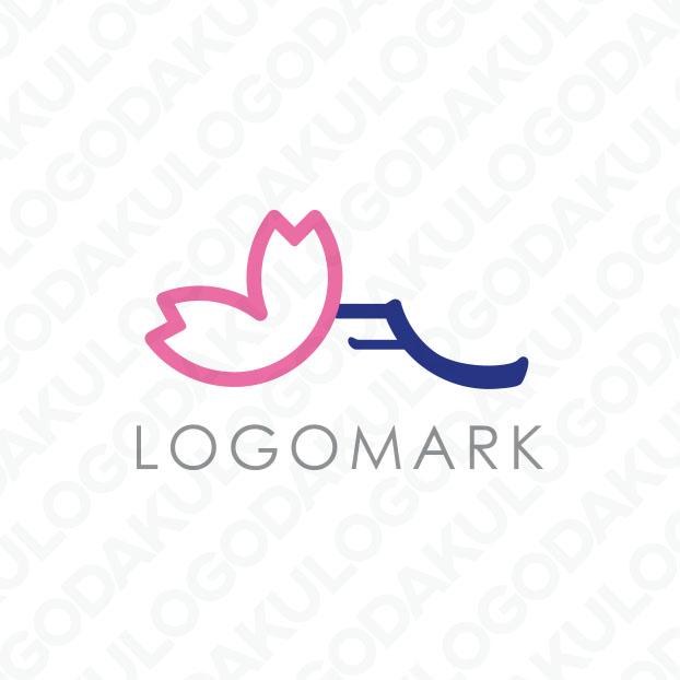 桜と富士裾野のロゴ