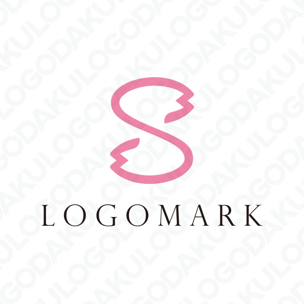 桜の花びらSのロゴ