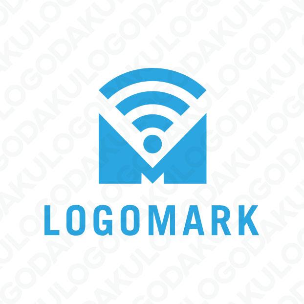 オンラインで配信するMのロゴ
