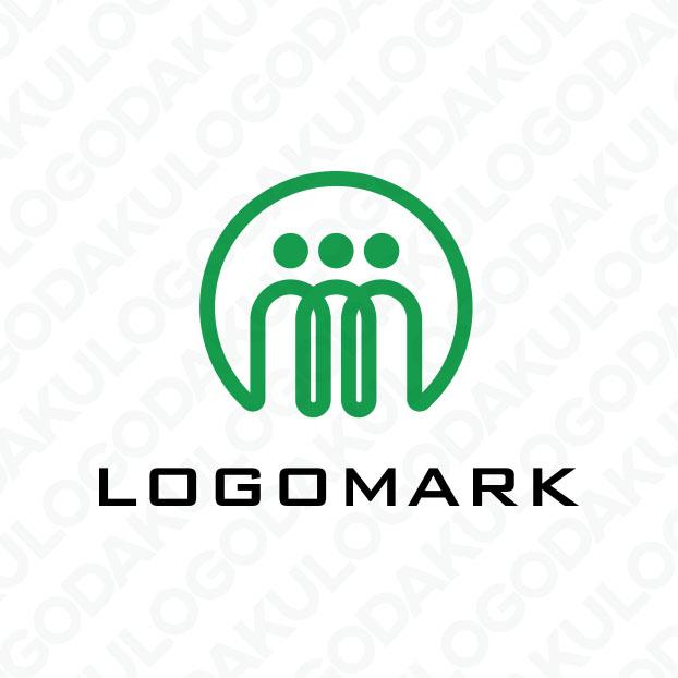 オンラインで世界につながるMのロゴ