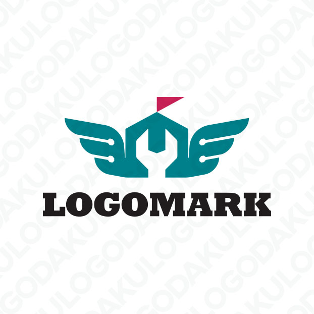 羽ばたくガレージのロゴ
