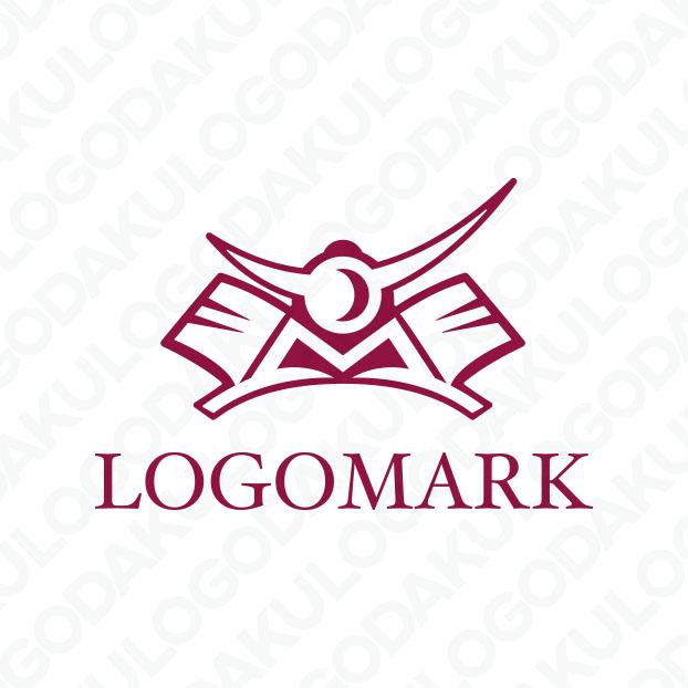 兜・Mのロゴ