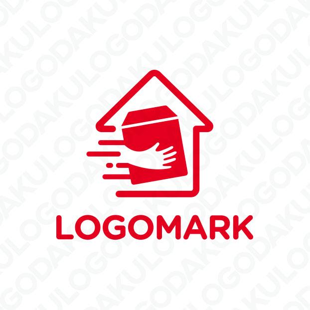 大切な荷物を届けるロゴ
