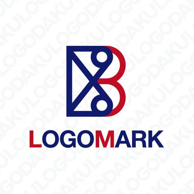 ハサミとBのロゴ
