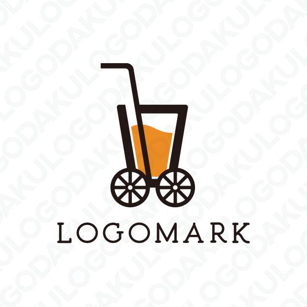 フルーツドリンク移動販売のロゴ