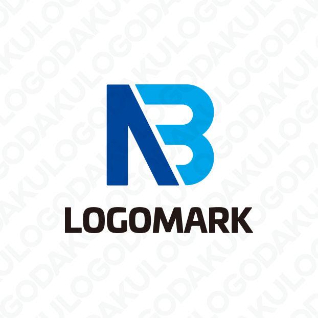 NとBが合体したロゴ