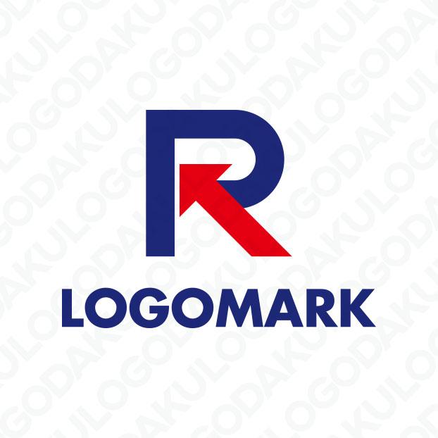 鋭く切り込むRのロゴ