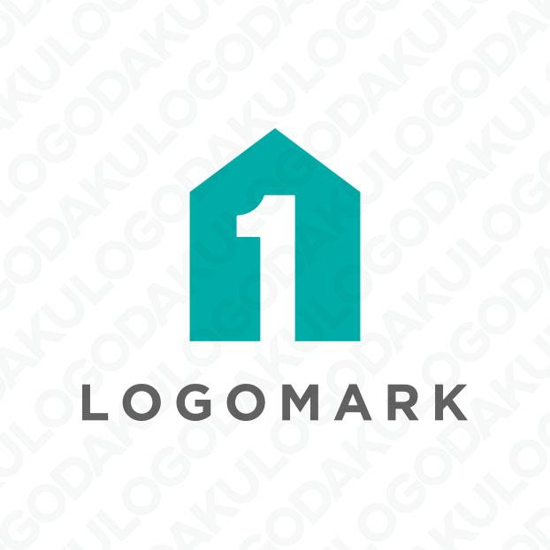 ナンバーワン住宅のシンプルロゴ