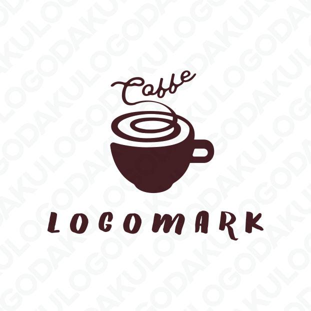 芳醇な香りの珈琲のロゴ