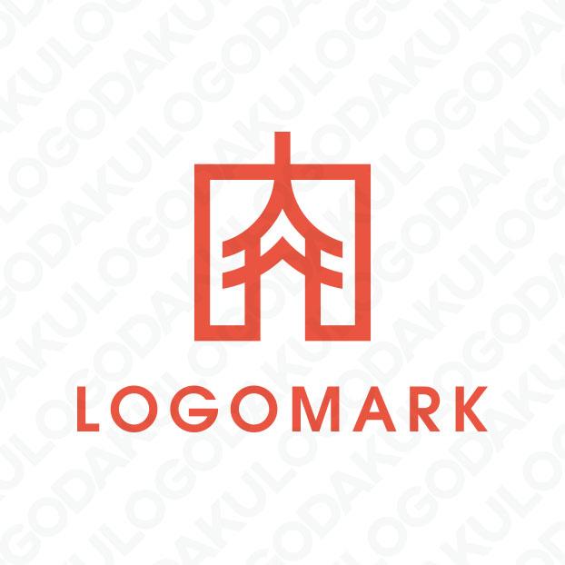 肉と二重塔・肉の登竜門のロゴ
