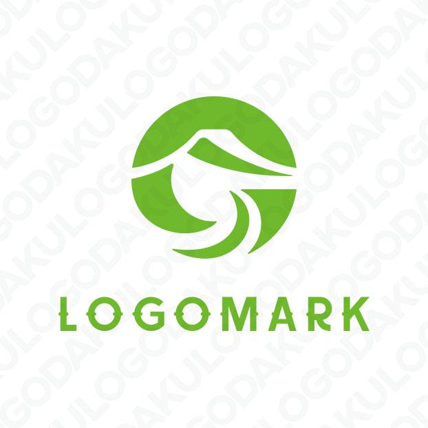 オーガニック・豊かな自然のロゴ