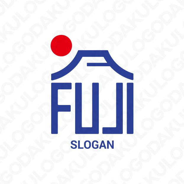 日本一・富士山のロゴ