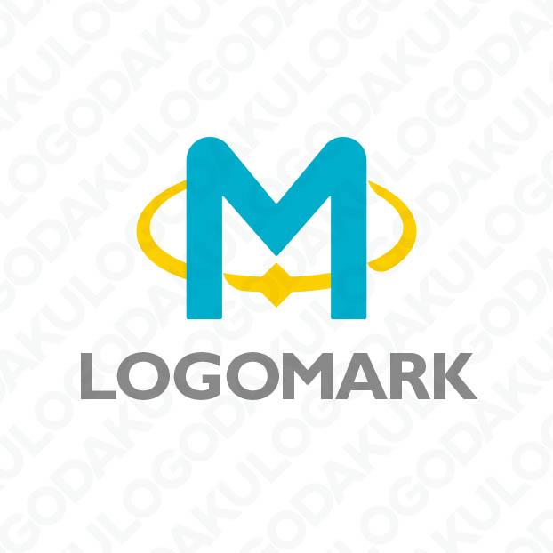 つながりの輪を持つMのロゴ