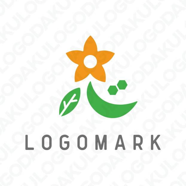 心を込めて花を贈るロゴ