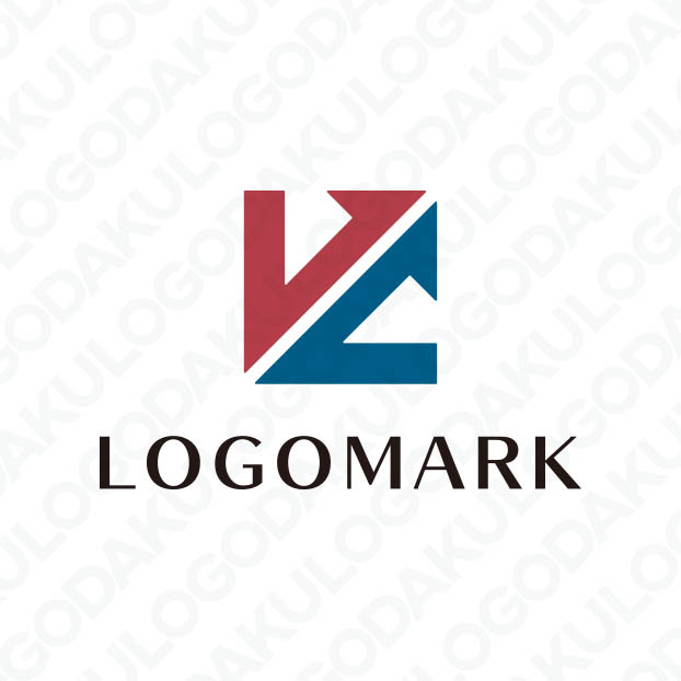 2つ力が合わさり成功へと導くLのロゴ