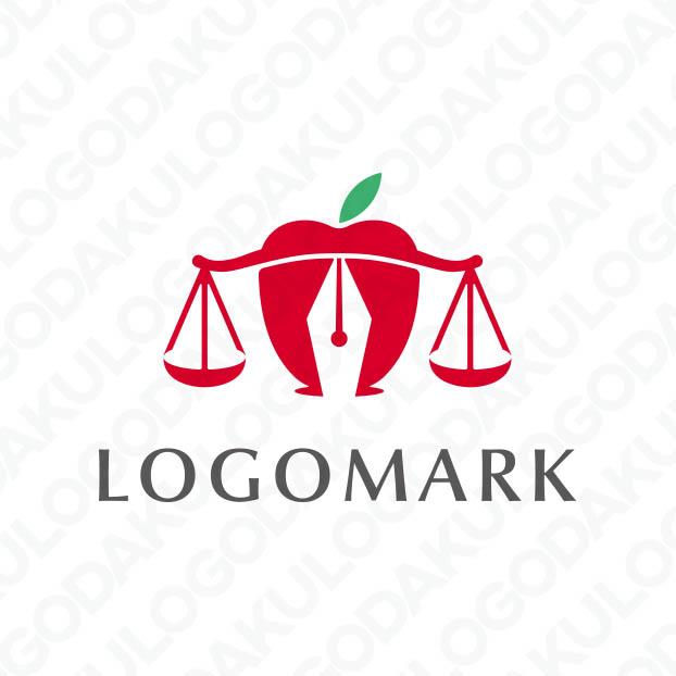 アップル天秤のロゴ