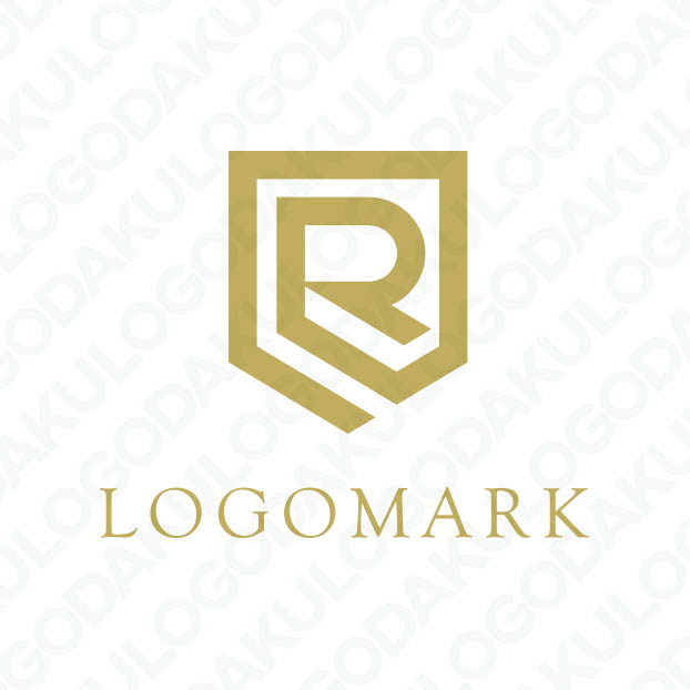 シールド・盾のRロゴ